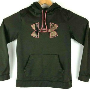 Under Armour Hoodie S RealTree Pink Camo Logo